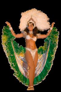 Danseuse brésilienne lors du spectacle de 2006